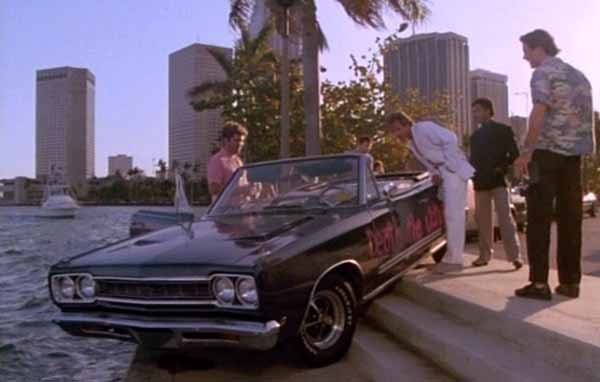Collector Cars From Movies And Tv Shows Plymouth Gtx Miami