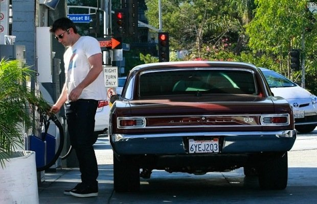 Celebs and rides ben affleck 1966 chevrolet chevelle ss for Garage ben autos