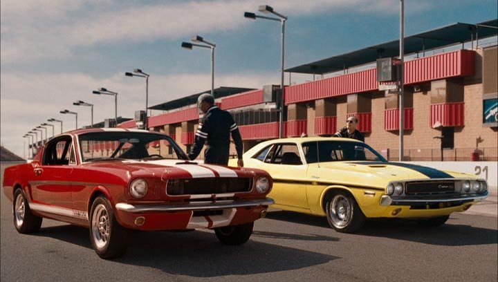 Collector Cars From Movies And Tv Shows Dodge Challenger Rt