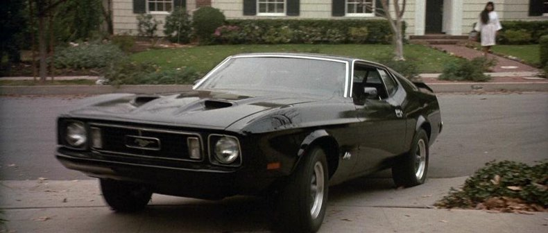Collector Cars From Movies And Tv Shows Ford Mustang Marked