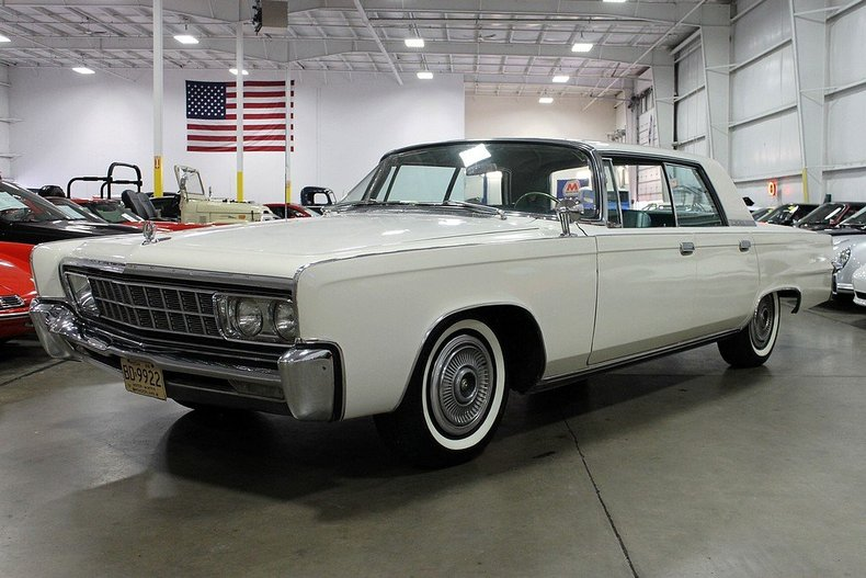 White 1966 Chrysler Imperial For Sale Mcg Marketplace