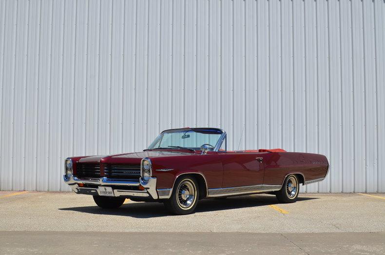 Marimba red 1964 pontiac bonneville for sale mcg marketplace for Garage auto bonneville
