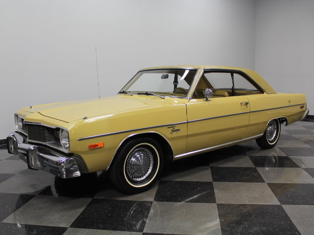Gold 1975 Dodge Dart Swinger For Sale Mcg Marketplace