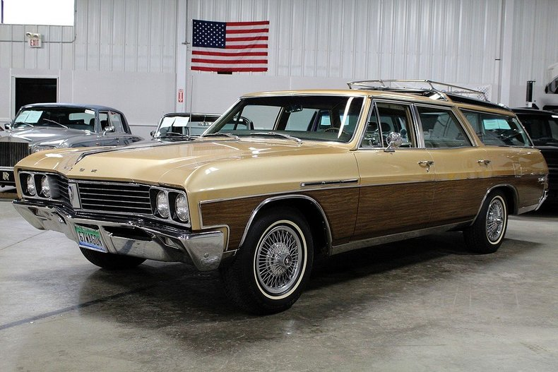 Gold 1967 Buick Sport Wagon For Sale Mcg Marketplace