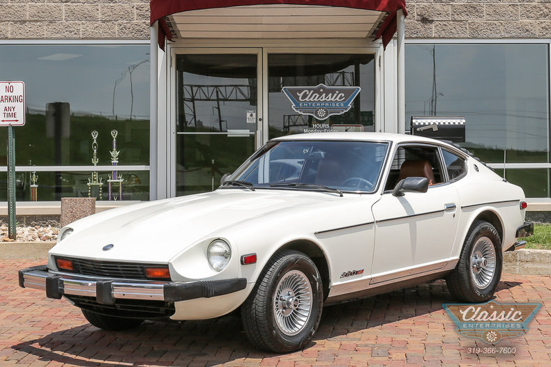 White 1978 Datsun 280 Z For Sale  MCG Marketplace