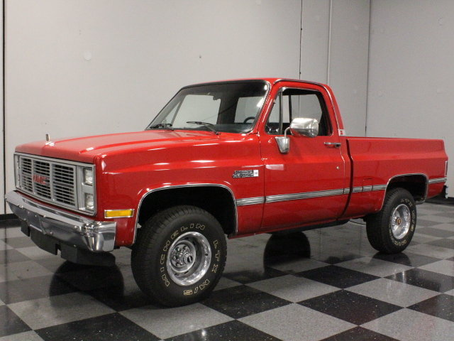 Red 1987 Gmc Sierra 1500 For Sale Mcg Marketplace