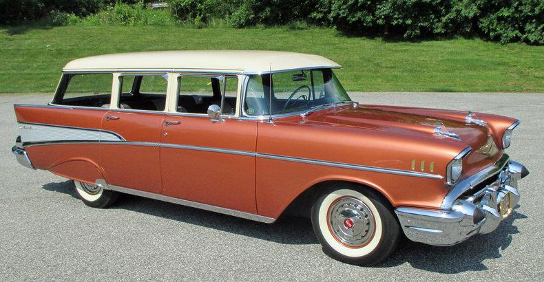 Sierra Gold Adobe Biege 1957 Chevrolet Bel Air For Sale