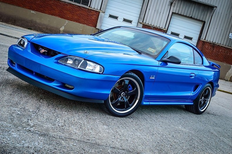 Bright Atlantic Blue Ford Code K7 1998 Ford Mustang Gt For ...