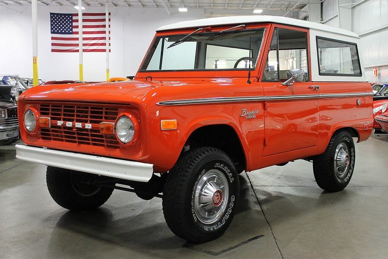 Poppy Red 1969 Ford Bronco For Sale Mcg Marketplace