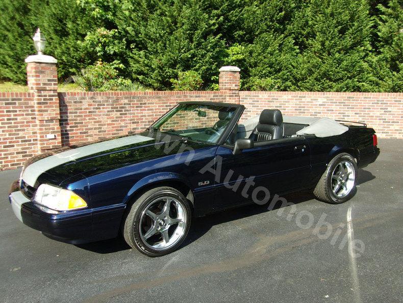 1989 Mustang Cobra Horsepower