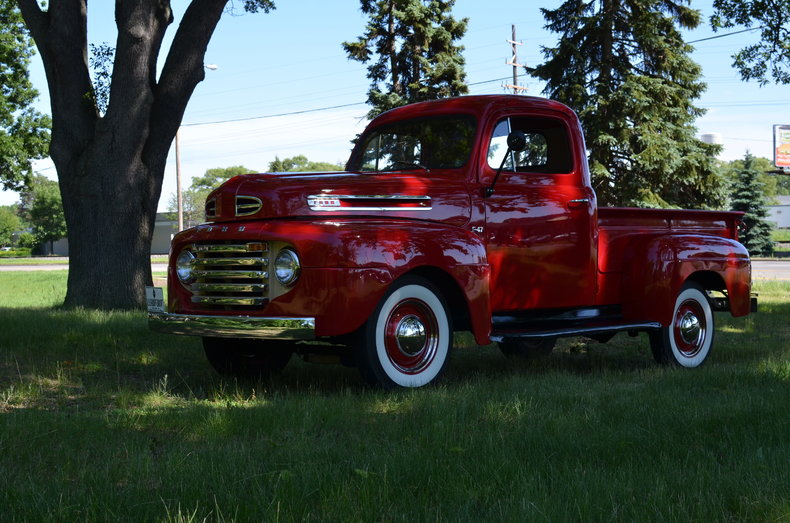 Red 1948 Ford F1 For Sale Mcg Marketplace