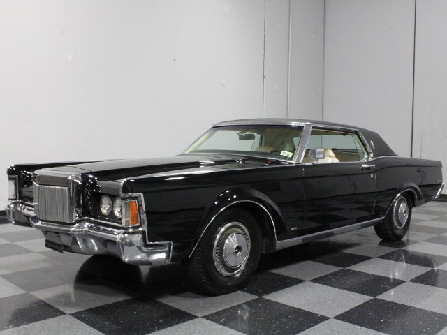 black 1970 lincoln continental mark iii for sale mcg marketplace. Black Bedroom Furniture Sets. Home Design Ideas