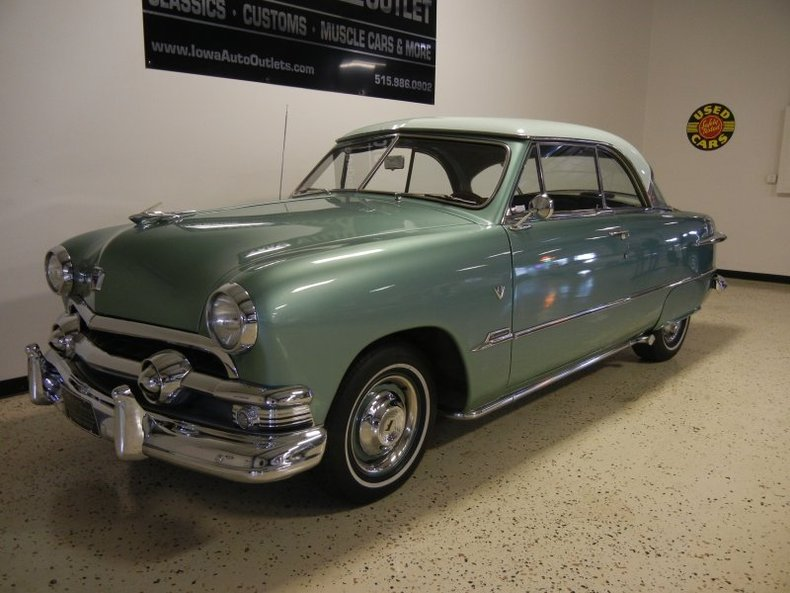 Vehicles Other Automobiles For Sale In Victoria Bc: Green 1951 Ford Victoria For Sale