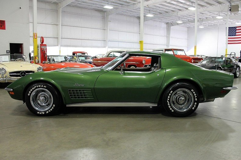 1972 chevrolet corvette stingray post mcg social. Cars Review. Best American Auto & Cars Review