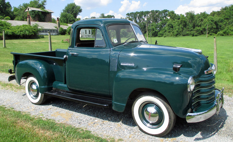 Forester green 1952 chevrolet 5 window pickup for sale for 1952 5 window chevy pickup for sale
