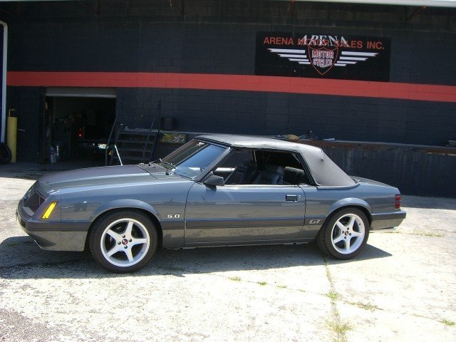 gray 1985 ford mustang gt for sale mcg marketplace. Black Bedroom Furniture Sets. Home Design Ideas