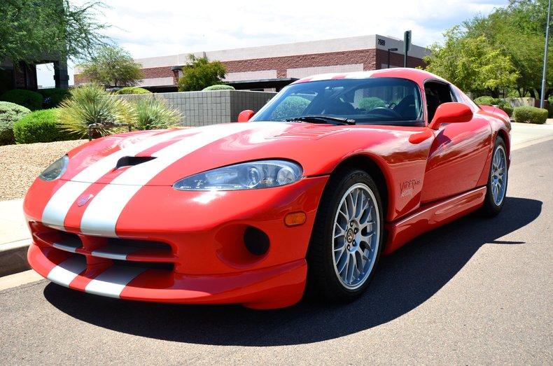 Dodge Dealers In Az >> Viper Red 2000 Dodge Viper Gts For Sale   MCG Marketplace