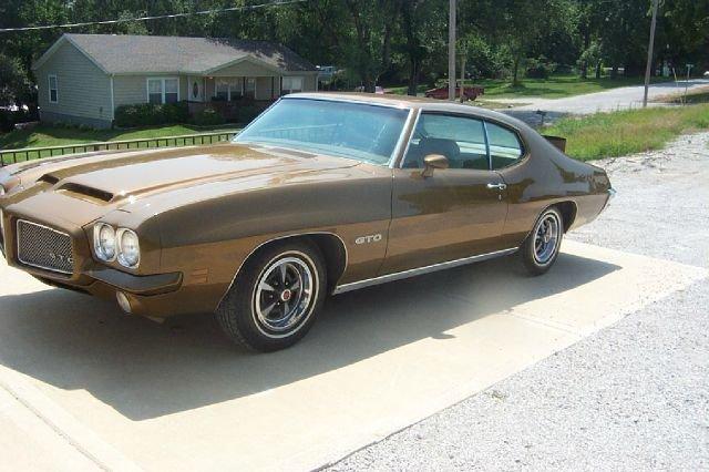 Gold 1971 Pontiac Gto For Sale  MCG Marketplace