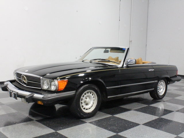 Black 1979 mercedes benz 450 sl for sale mcg marketplace for 1979 mercedes benz 450sl for sale