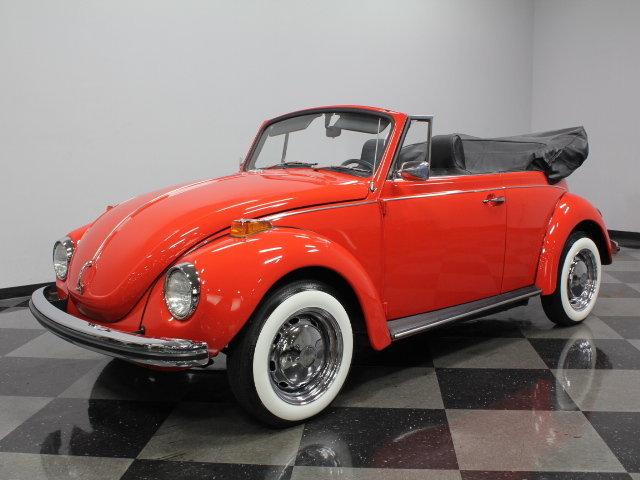 red 1972 volkswagen super beetle for sale mcg marketplace. Black Bedroom Furniture Sets. Home Design Ideas