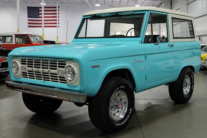 teal 1970 ford bronco for sale mcg marketplace. Black Bedroom Furniture Sets. Home Design Ideas