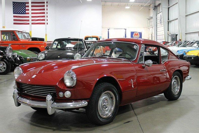 damson red 1968 triumph gt6 for sale | mcg marketplace
