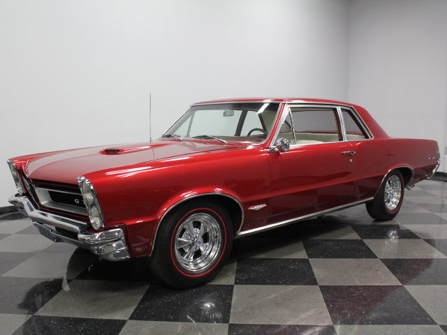 Maroon 1965 Pontiac Gto For Sale Mcg Marketplace