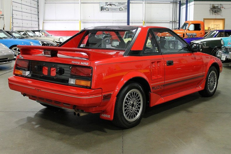 1986 toyota mr2 post mcg social myclassicgarage. Black Bedroom Furniture Sets. Home Design Ideas