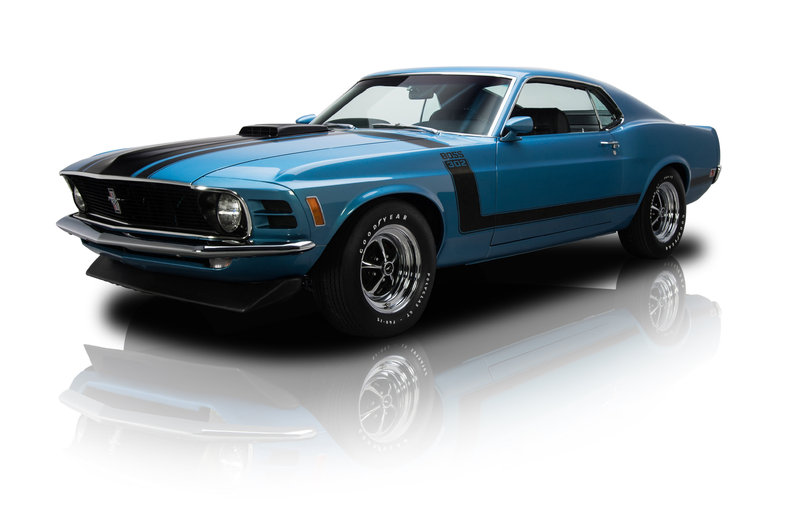 medium blue metallic 1970 ford mustang boss 302 for sale. Cars Review. Best American Auto & Cars Review