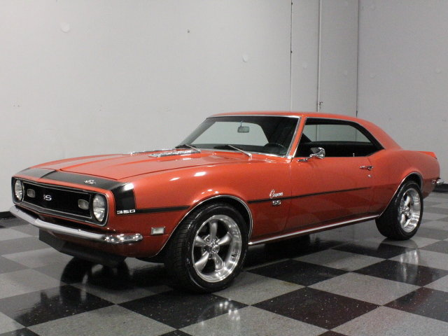Bronze 1968 Chevrolet Camaro Ss For Sale Mcg Marketplace