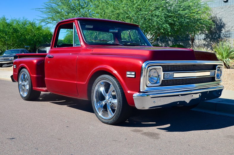1088286_6efd10eee5_low_res red 1967 chevrolet c10 for sale mcg marketplace 1967 Chevy C10 Pick Up at mifinder.co