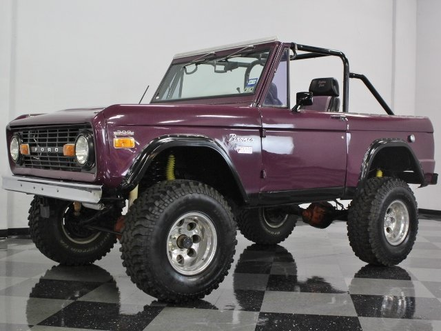 purple 1970 ford bronco for sale mcg marketplace. Black Bedroom Furniture Sets. Home Design Ideas