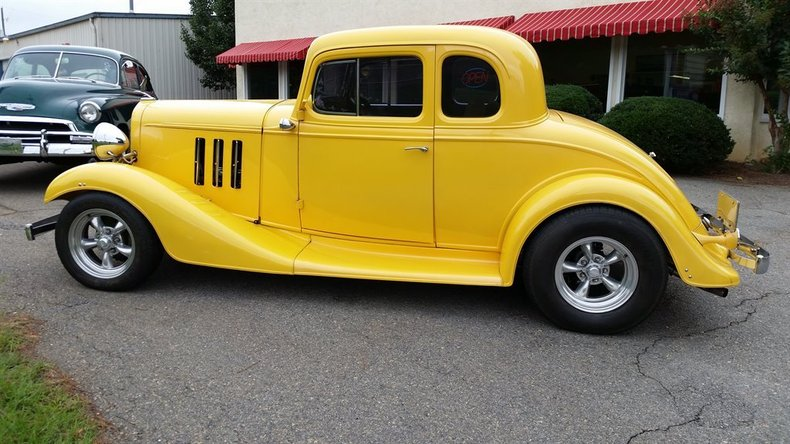 1933 Chevrolet 5 Window Coupe Post Mcg Social