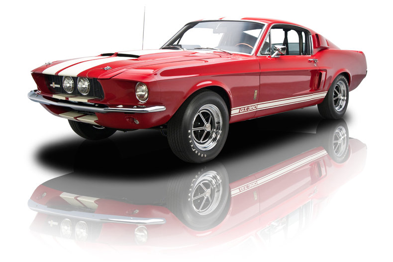 Candy Apple Red 1967 Shelby Gt350 For Sale Mcg Marketplace