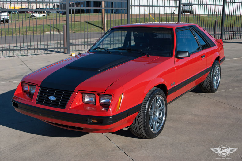 bright red 1983 ford mustang gt for sale mcg marketplace. Black Bedroom Furniture Sets. Home Design Ideas