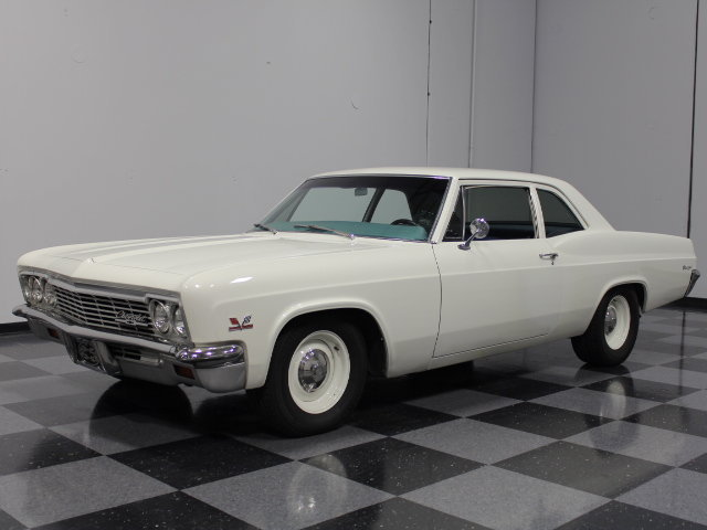 Chevy Dealers In Ga >> White 1966 Chevrolet Biscayne For Sale | MCG Marketplace