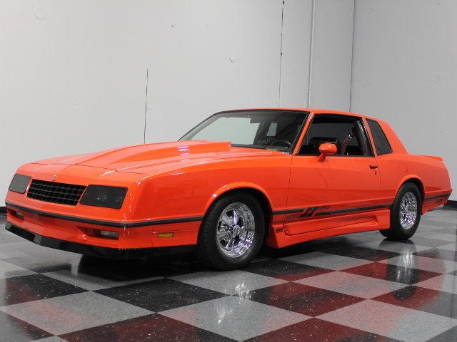 Orange 1985 Chevrolet Monte Carlo Ss For Sale Mcg