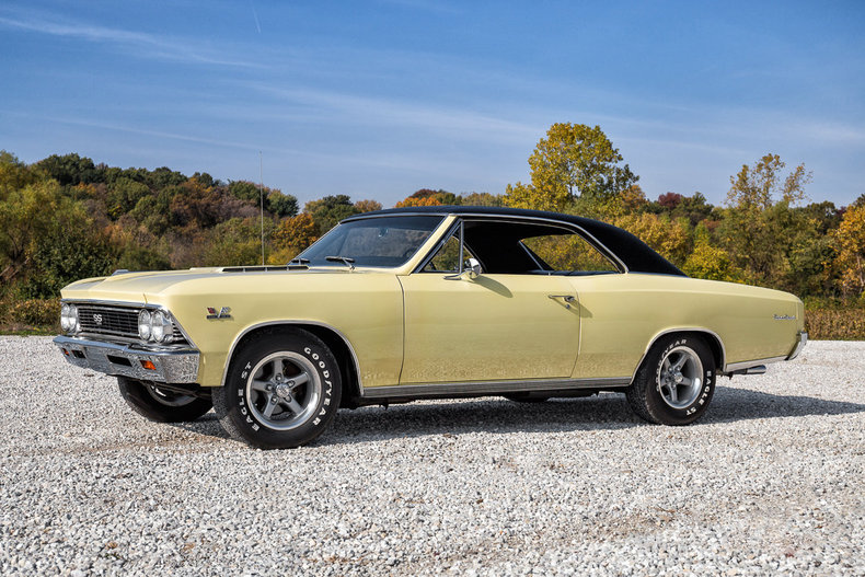 Butternut Yellow 1966 Chevrolet Chevelle Ss For Sale  MCG Marketplace
