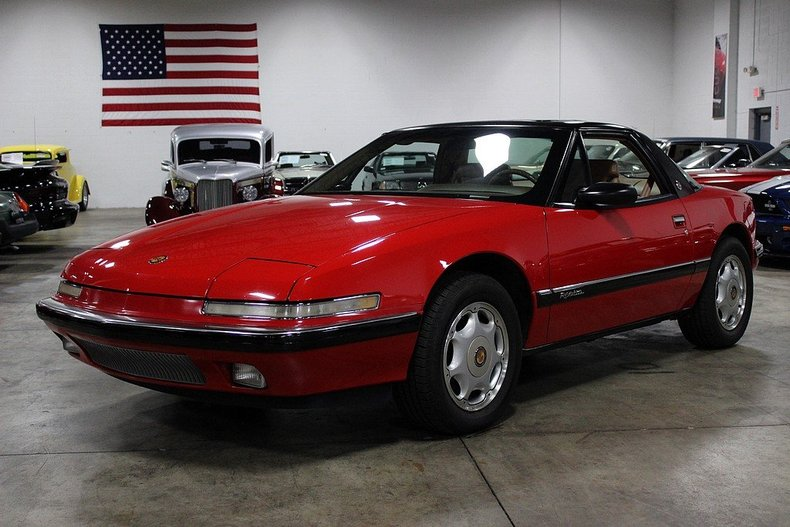 Red 1991 Buick Reatta For Sale Mcg Marketplace
