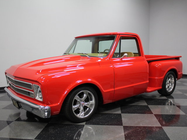 Chevrolet Dealers In Nc >> Red 1968 Chevrolet C10 For Sale | MCG Marketplace