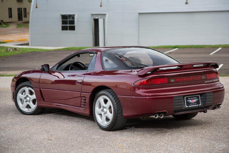 New Mitsubishi 3000gt >> Morocco Red Pearl Metallic 1991 Mitsubishi 3000 Gt Vr4 For ...