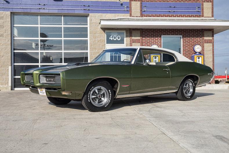 Muncie Car Dealers >> Verdoro Green 1968 Pontiac Gto For Sale | MCG Marketplace
