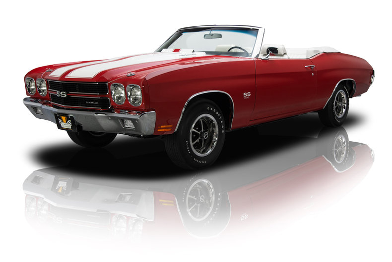 Cranberry Red 1970 Chevrolet Chevelle Super Sport For Sale