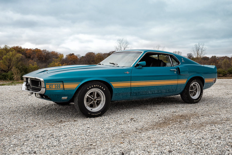 gulfstream aqua 1969 shelby gt500 for sale mcg marketplace. Black Bedroom Furniture Sets. Home Design Ideas