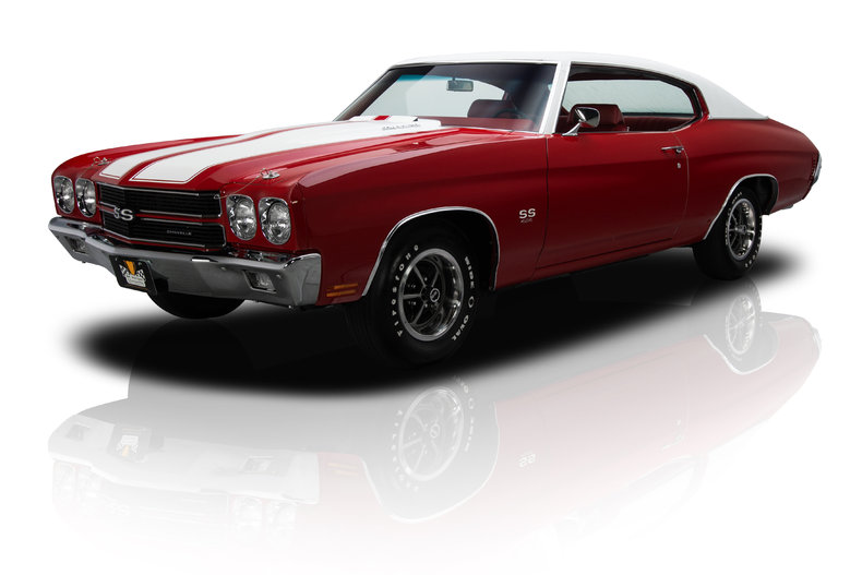Cranberry Red 1970 Chevrolet Chevelle Super Sport Ls6 For