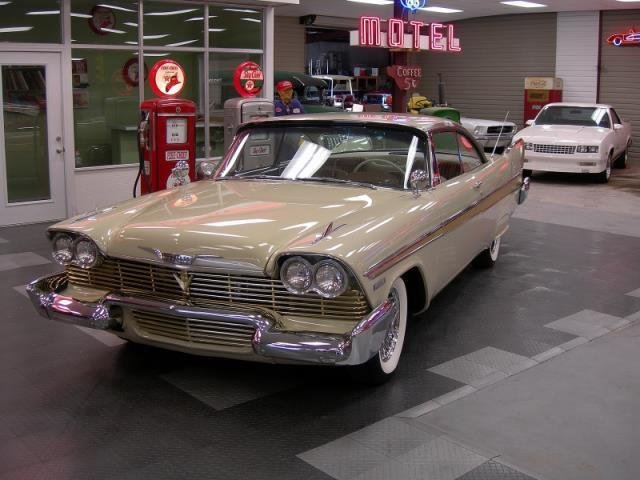 1958 plymouth fury post mcg social myclassicgarage. Black Bedroom Furniture Sets. Home Design Ideas