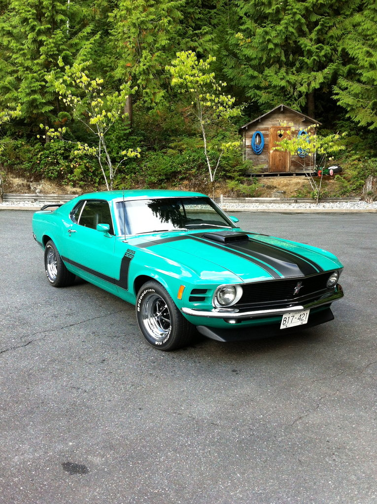 green 1970 ford mustang boss 302 for sale mcg marketplace. Black Bedroom Furniture Sets. Home Design Ideas