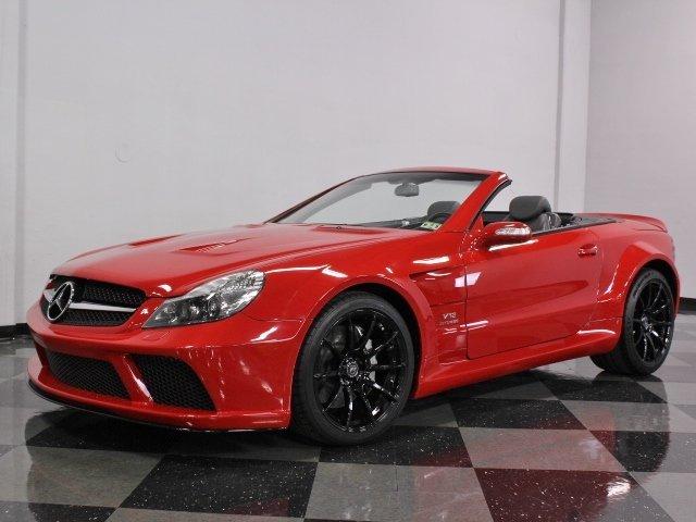 Red 2004 mercedes benz sl600 amg for sale mcg marketplace for Mercedes benz sl600 v12 biturbo