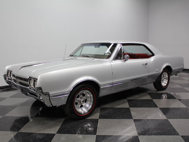 Silver 1966 Oldsmobile Cutlass For Sale  MCG Marketplace