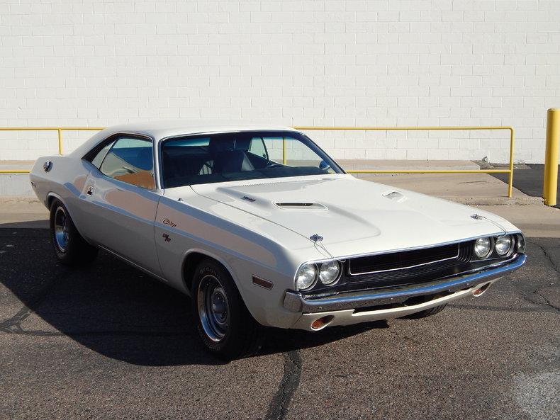White 1970 Dodge Challenger R/T For Sale | MCG Marketplace